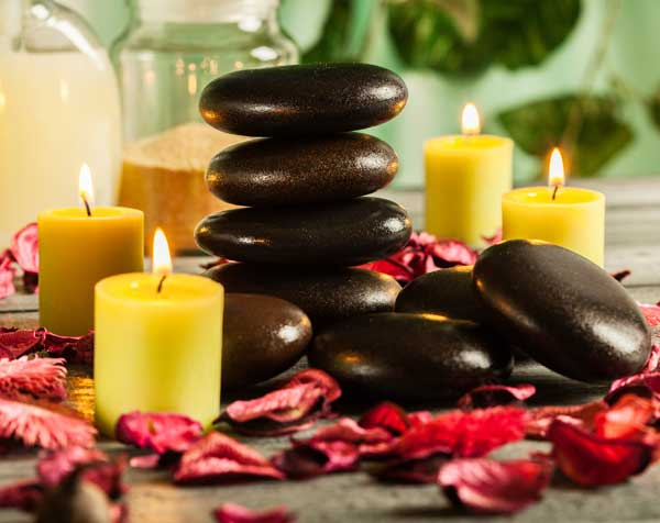 Hot Stones Therapy Massage
